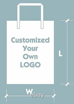 200pcs Customized Plastic Merchandise Bags 3040cm/1216 With Your Own Logo