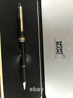 $500 NEW Mont Blanc Meisterstuck 163 Rollerball Pen With Papers