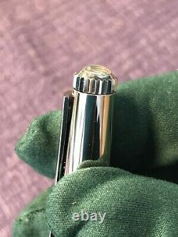 Authentic Rolex Silver wave ballpoint pen. Limited edition gift. WithBox. New