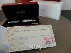 Cartier Diabolo Limited Edition RocknRoll Ballpoint Pen Brand New Stamped Set