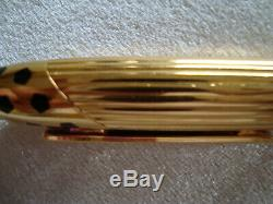Cartier Panthere ballpoint Gold color/black lacquer