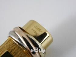 Cartier Vendome Oval Gold Plated Ballpoint Pen (NEAR MINT) FREE SHIPPING