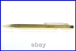 Fully Gold coated Montblanc LEONARDO Ball Point Pen in great Condition / Germany