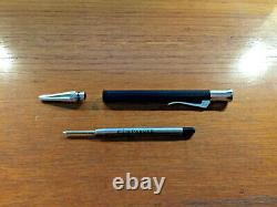 Graf von Faber-Castell propelling ball pen guilloche black preowned