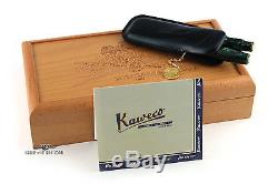 KAWECO ANNIVERSARY With GREEN VISCONTI CELLULOID LE BALLPOINT & FOUNTAIN PEN SET