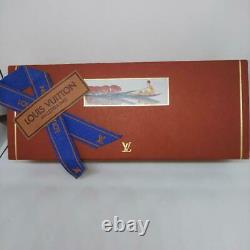 Louis Vuitton Ballpoint Pen Stylo Agenda Gold withBox, Manual Excellent Very Rare