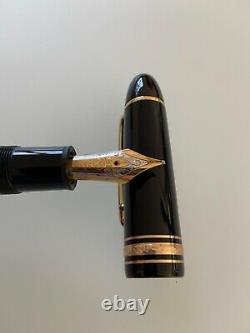 MONTBLANC MEISTERSTUCK NO. 149 FOUNTAIN PEN and BALLPOINT PEN SET / PRE-OWNED