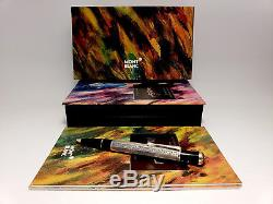 MONTBLANC Marcel Proust Writers Limited Edition Ballpoint Pen + LE Print, NOS