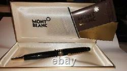 MONTBLANC Meisterstuck Classic Ballpoint Pen withoriginal case, box and papers