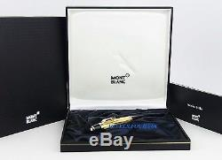 Montblanc Boheme Solitaire Gold Plated Rouge Ballpoint Pen 5814 New Box France