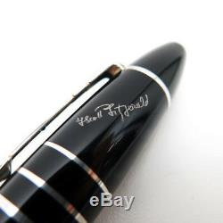 Montblanc F. Scott Fitzgerald Limited Edition Fountain Pen B #7376 Brand New