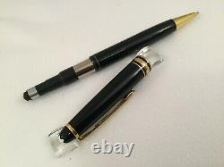 Montblanc Meisterstuck Classique Black with Gold Mechanical Pencil 7mm 165 12737