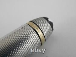 Montblanc Meisterstuck Solitaire Sterling Silver Barley Mechanical Pencil (used)