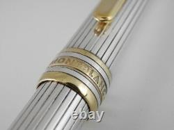 Montblanc Meisterstuck Solitaire Sterling Silver Pinstripe Ballpoint Pen (used)