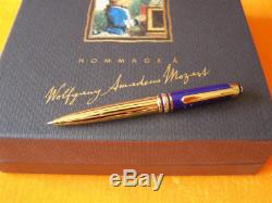 Montblanc Ramses II Mozart Ballpoint Pen Pen New In Box Small Pen 4 1/2 Inches