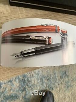 Montblanc Rouge Et Noir Heritage Collection Ballpoint Pen. Brand New In Box