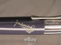 Montblanc Writers Limited Edition Charles Dickens Sterling Silver Ballpoint Pen