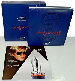 NEW Montblanc Andy Warhol Special Edition Ball-Point Pen 112718