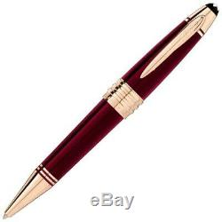 NEW Montblanc John F Kennedy Special Edition Burgundy JFK Ball-Point Pen 118083
