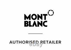 New Montblanc Pix Blue Ballpoint Pen, MB 114810 Authentic in box and papers