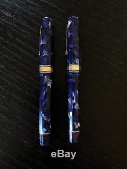 Omas Extra Pen Set- Classic Paragon Shape- Fountain and Roller Ball