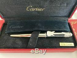 RARE LOUIS CARTIER LIMITED EDITION Rock n'Roll Ballpoint Pen NEW in Box