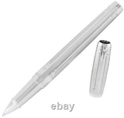 ST Dupont Line D Atelier Goldsmith Rollerball Pen Silver Arabesque 412673 $695