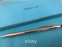 Tiffany & Co 14K Solid Gold Cross Century Classic Ball Point Pen 20.5 Grams