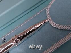Tiffany & Co Bamboo Sterling Silver 925 Ballpoint Pen