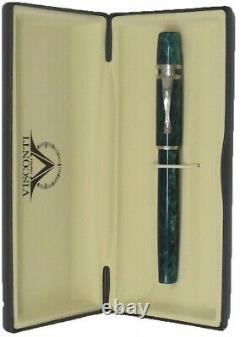 Visconti Ragtime Collection Pearled Green Rollerball Pen New In Box 561RL04